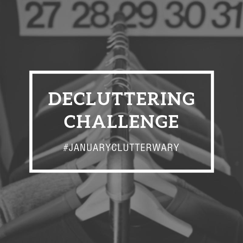 Decluttering Challenge Graphic